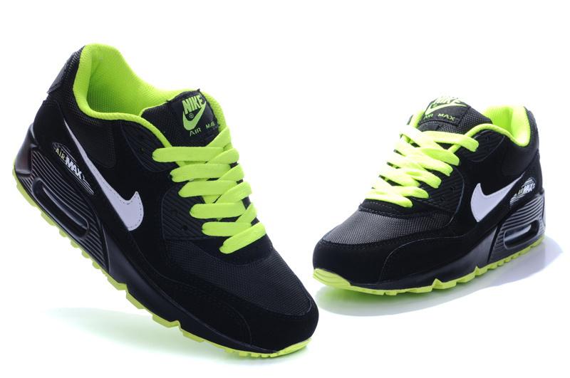 air max 90 vert et noir